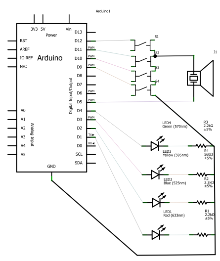 arduino simon a little more chris swan 39 s weblog. Black Bedroom Furniture Sets. Home Design Ideas