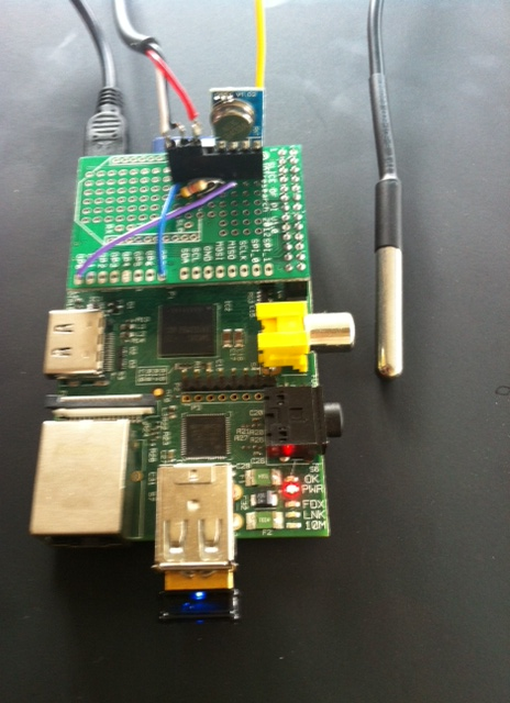Raspberry Pi sous vide water bath | Chris Swan's Weblog